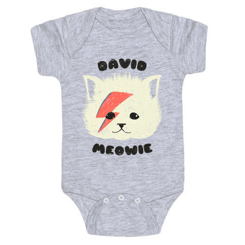 ce93b1f79 Bowie Baby Onesies | LookHUMAN