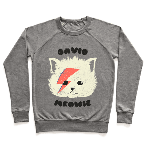 David Meowie Pullover