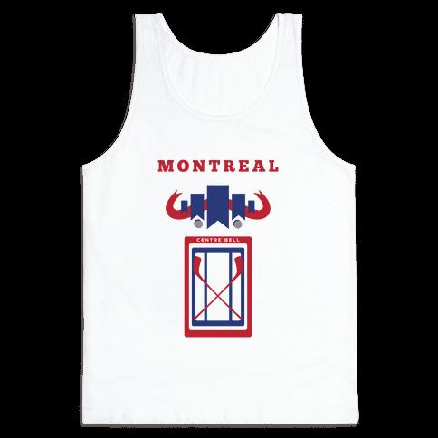Montreal Stadium Hockey Fan Tank Top