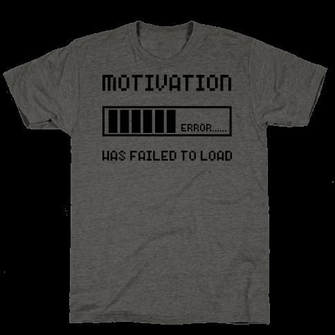 Motivation Has Failed to Load