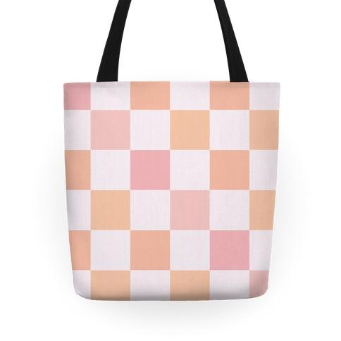 Checkered Tote (Warm) Tote