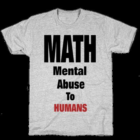 M.A.T.H. Mens T-Shirt