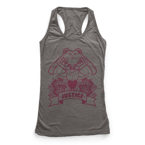 Champion of Love and Justice Racerback Tank Top