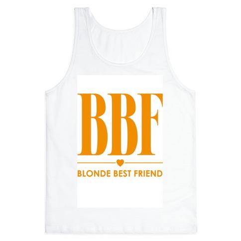 Blonde Best Friend (BBF) Tank Top
