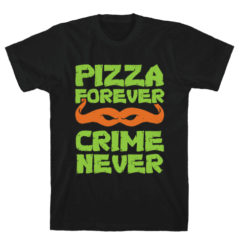 Pizza Forever Crime Never (Purple)