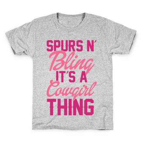 Spurs N' Bling Kids T-Shirt