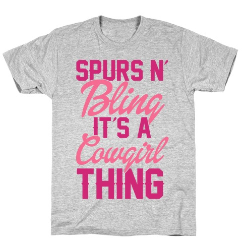 Spurs N' Bling T-Shirt