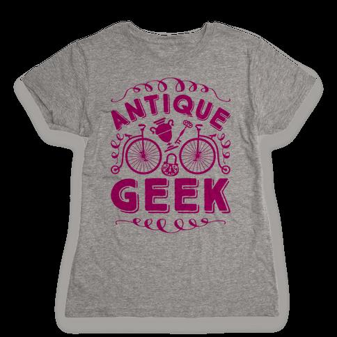 Antique Geek Womens T-Shirt