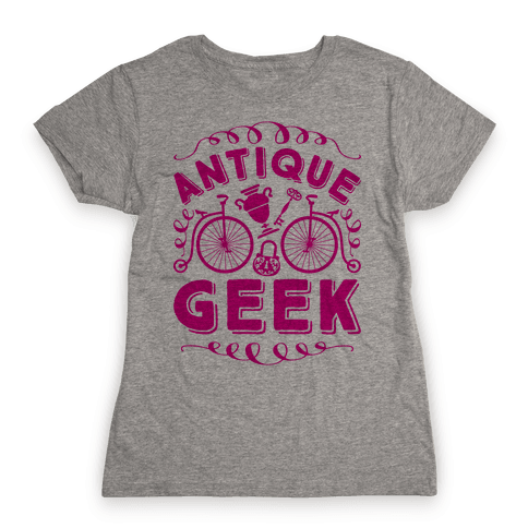 Antique Geek Womens T-Shirt