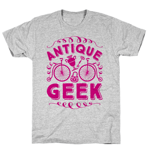 Antique Geek Mens T-Shirt