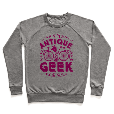 Antique Geek Pullover