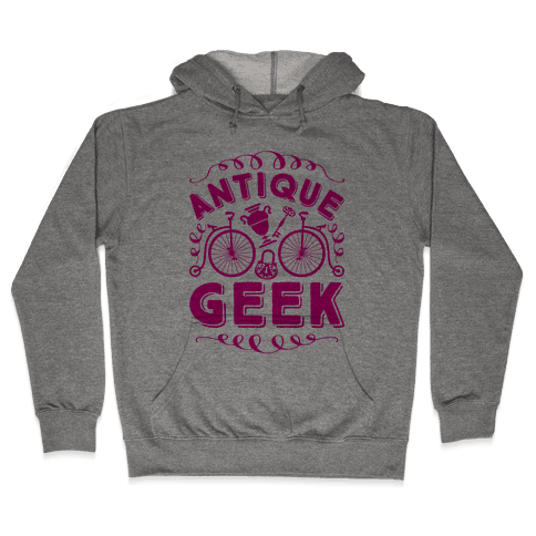 Antique Geek Hooded Sweatshirt