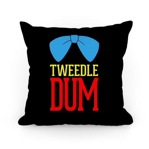 Tweedle Dum (2 of 2) Pillow