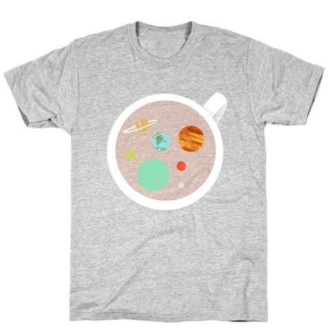Coffee & Space Planets T-Shirt