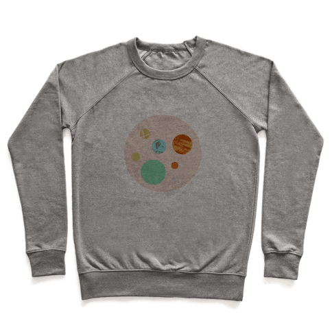 Coffee & Space Planets Pullover