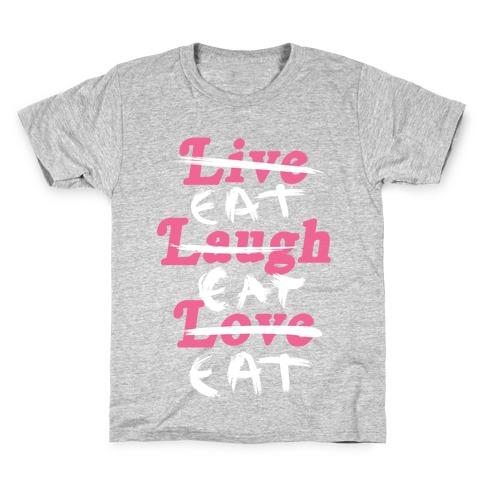 Eat Eat Eat Kids T-Shirt