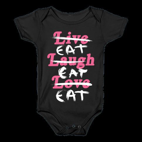 Eat Eat Eat Baby Onesy