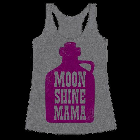 Moonshine Mama Racerback Tank Top