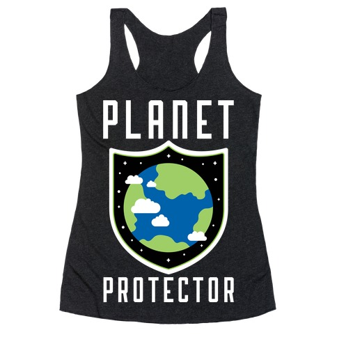 Planet Protector Racerback Tank Top