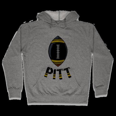 Pittsburgh Football Hooded Sweatshirt