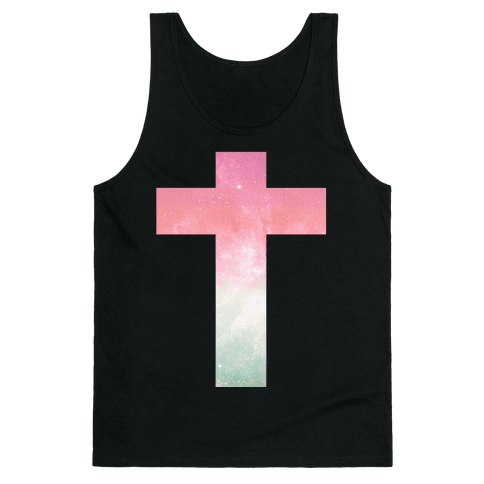 Cosmic Cross Tank Top