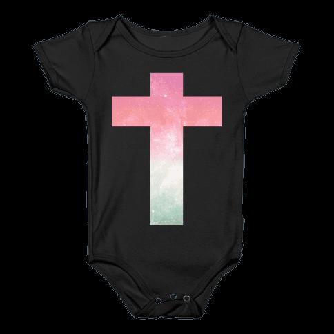 Cosmic Cross Baby Onesy