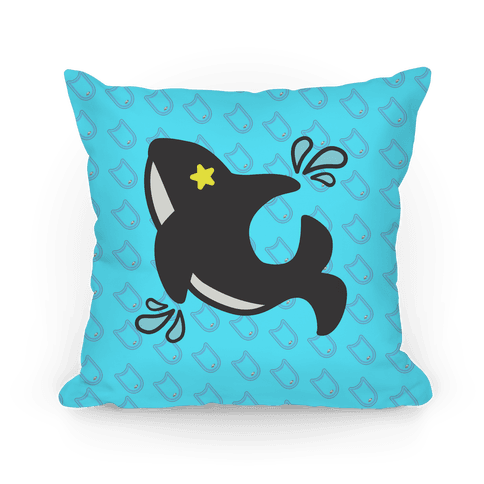 Splash Free! Makoto Mascot Pattern Pillow