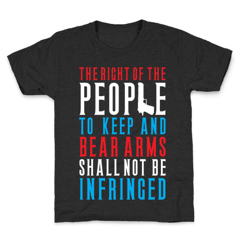 The Second Amendment Kids T-Shirt