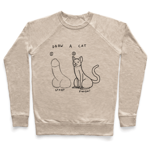How To Draw a Cat Pullover