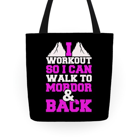 Workout Fellowship Style Tote
