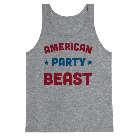 AMERICAN PARTY BEAST Tank Top