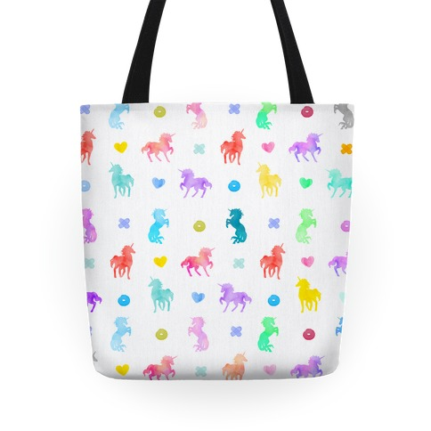 Simple Unicorn Pattern Tote