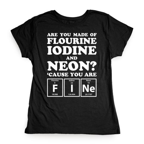 You Are Fine Womens T-Shirt
