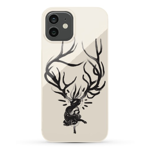 A Jackalope's Lullaby Phone Case