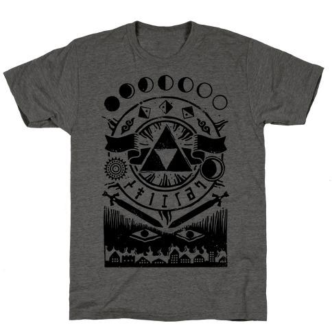 Hyrule Occult Symbols T-Shirt