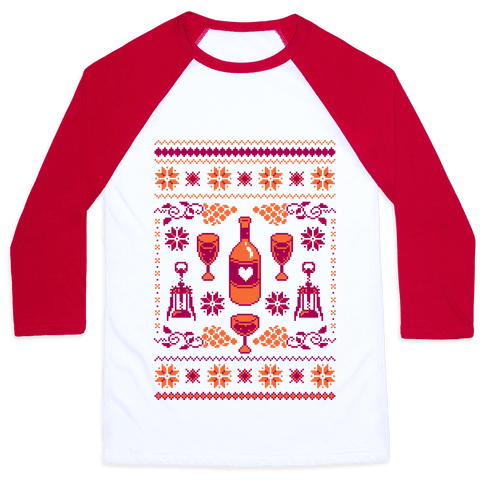 Ugly Wine Christmas Sweater