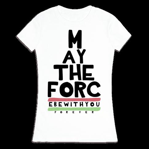 Jedi Vision Test Womens T-Shirt