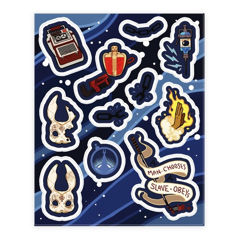 Bioshock Sticker and Decal Sheet