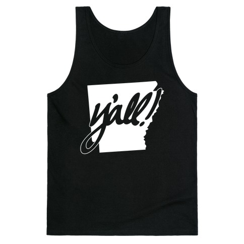 Y'all! (Arkansas) Tank Top