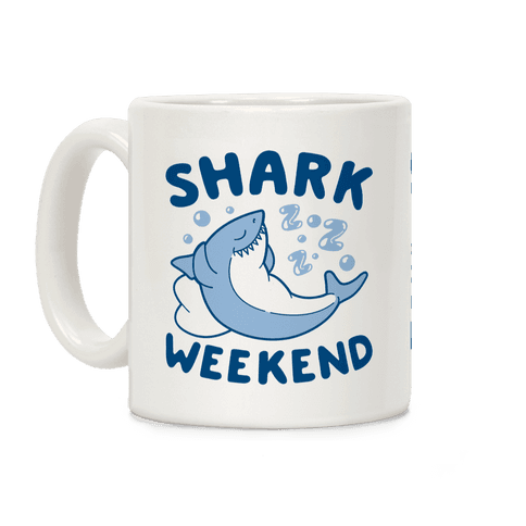 Shark Weekend Coffee Mug