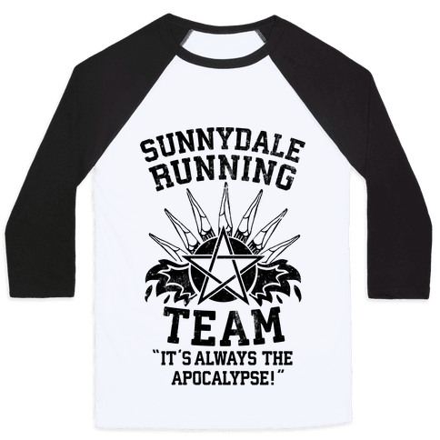 Sunnydale Running Team Baseball Tee
