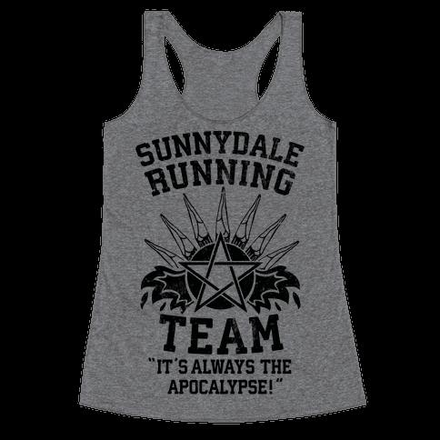 Sunnydale Running Team Racerback Tank Top