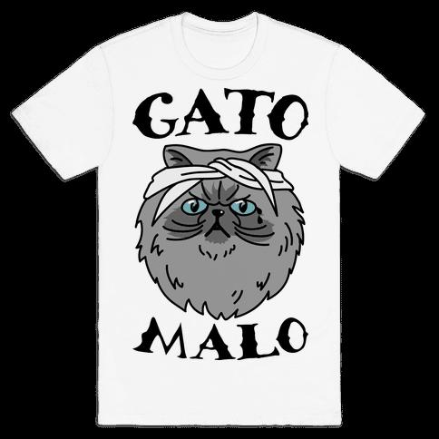 Gato Malo Mens T-Shirt