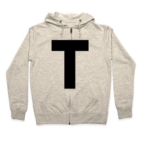 T-Shirt Zip Hoodie