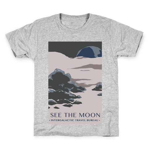 Space Travel - The Moon Kids T-Shirt