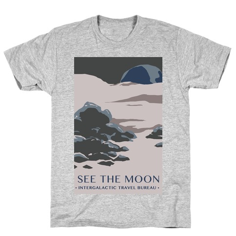 Space Travel - The Moon T-Shirt
