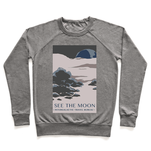 Space Travel - The Moon Pullover