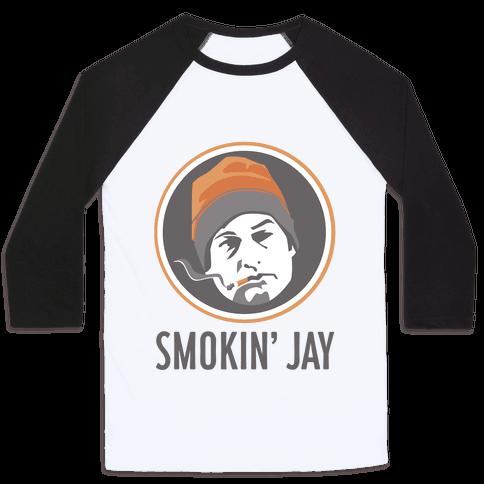 Smokin' Jay Baseball Tee