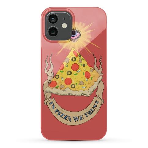 Pizza Illuminati Phone Case
