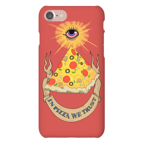 Pizza Illuminati Phone Case